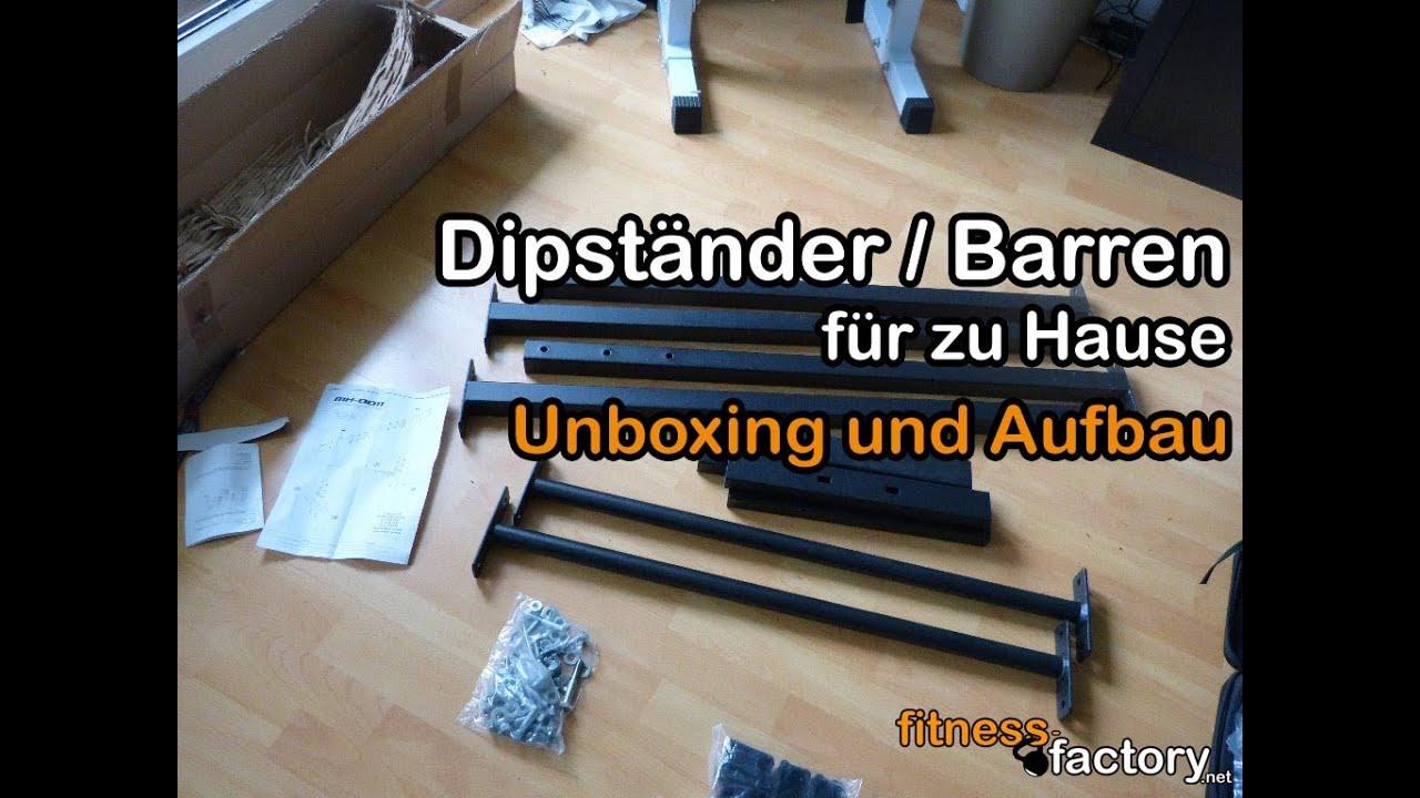 dipst nder barren f r zu hause unboxing und aufbau youtube. Black Bedroom Furniture Sets. Home Design Ideas