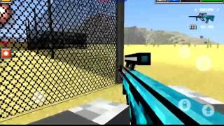 Nuke town glitch! Pixel Gun 3D
