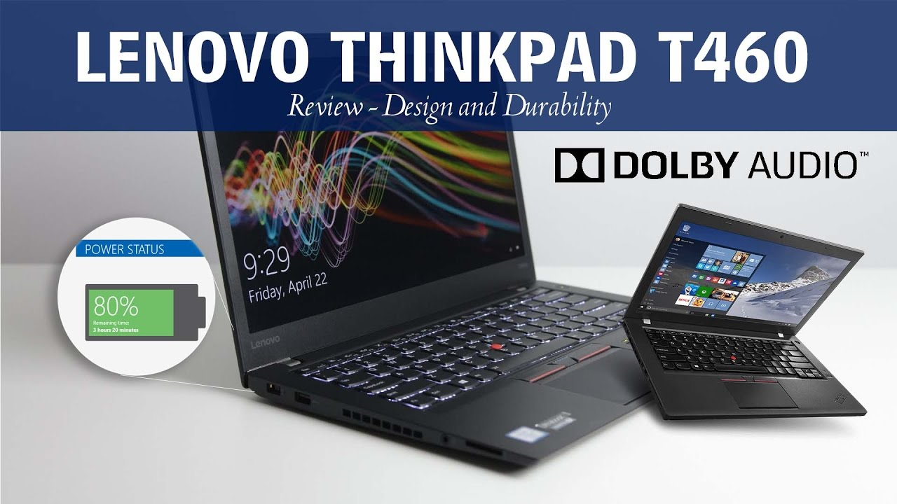 Laptop - Lenovo ThinkPad T460 (Review)
