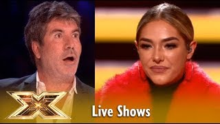 Simon Cowell WRONG Song Choise For Bella Penfold? Watch What Happens!   The X Factor UK 2018
