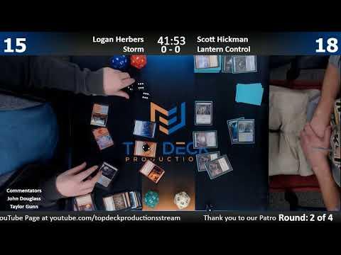 Modern w/ Commentary 12/5/17: Logan Herbers (Storm) vs. Scott Hickman (Lantern Control)