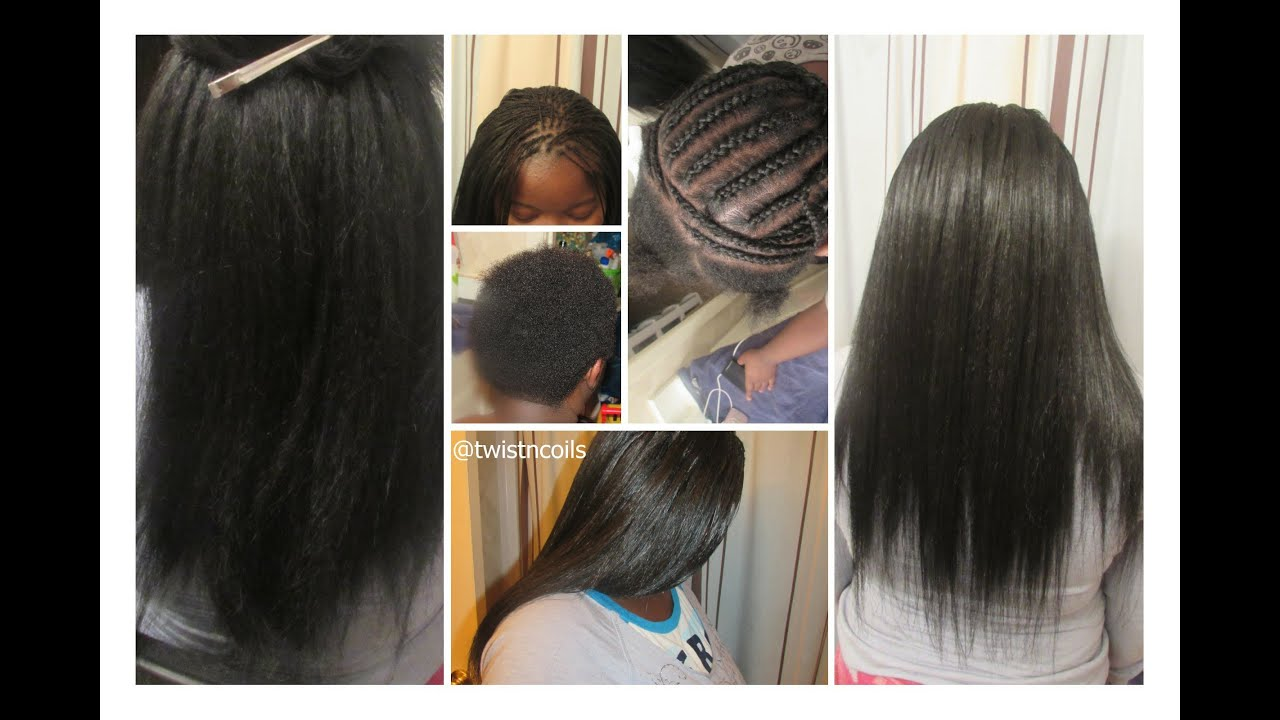 TnC  15  Quick Micro Braid Illusion with Crochet Braids
