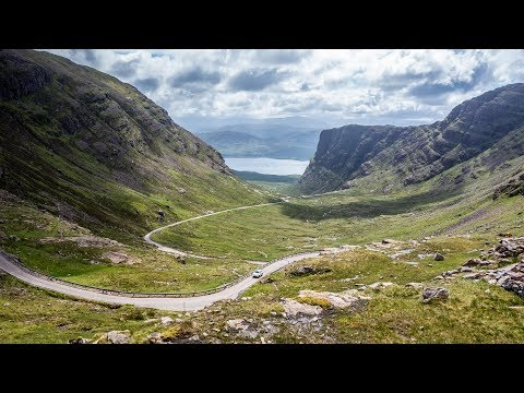 Yamaha XT660Z In Ireland & Scotland - Great Ride On The Way To Fort William - Part 19