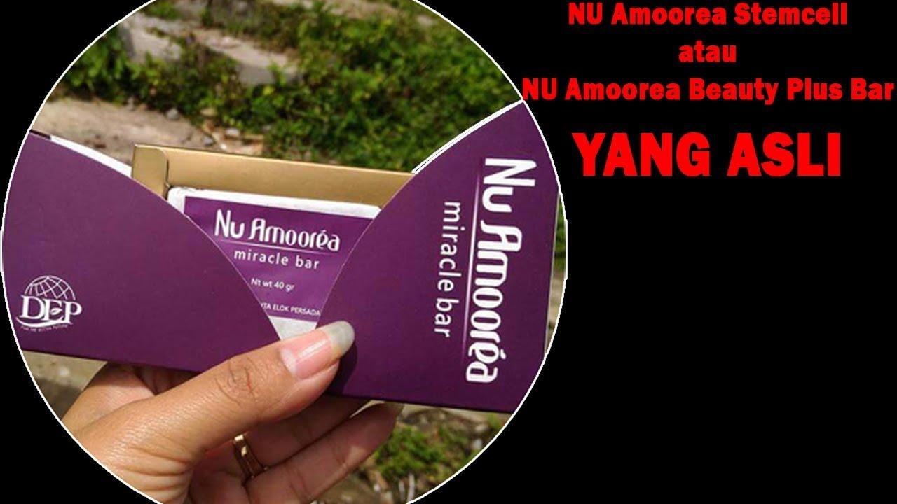 Nu Amoorea Beautyplus Bar Stem Cell Stemcell Stemcel Spec Dan Beauty Plus 45gr Sabun