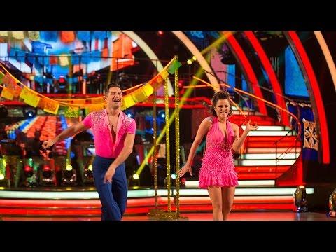 Caroline Flack & Pasha Kovalev Salsa to 'Maria'- Strictly Come Dancing: 2014 - BBC One