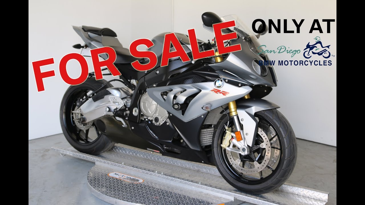 2013 bmw s1000rr for sale at san diego bmw motorcycles! - youtube