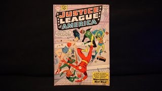 MDC #1 JLA Issue 5 July 1961 Vintage Silver Age Comic Cover to Cover