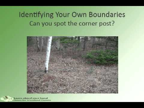 Learn About Your Land Find Your Property Boundaries And