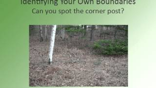 Learn About Your Land - Find Your Property Boundaries and Corners