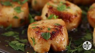 How to Make Easy Garlic-Lemon Scallops  Dinner Recipes  Allrecipes.com