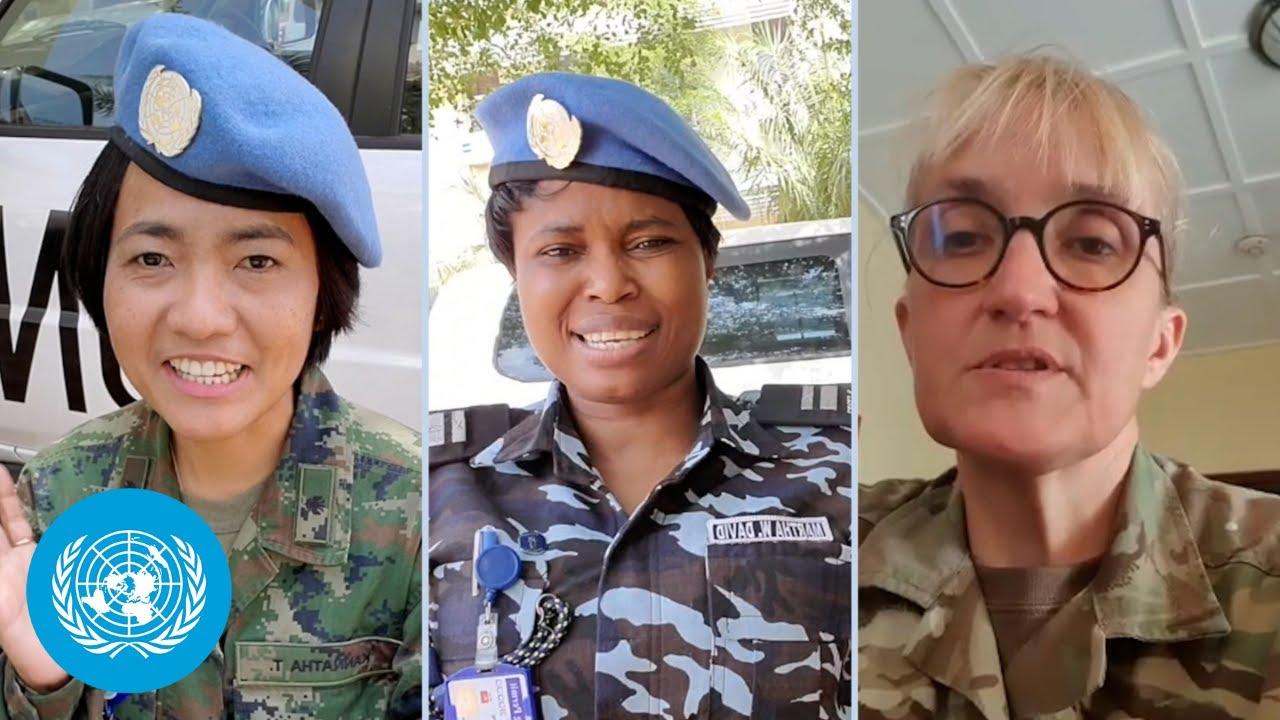 Women peacekeepers respond to their naysayers