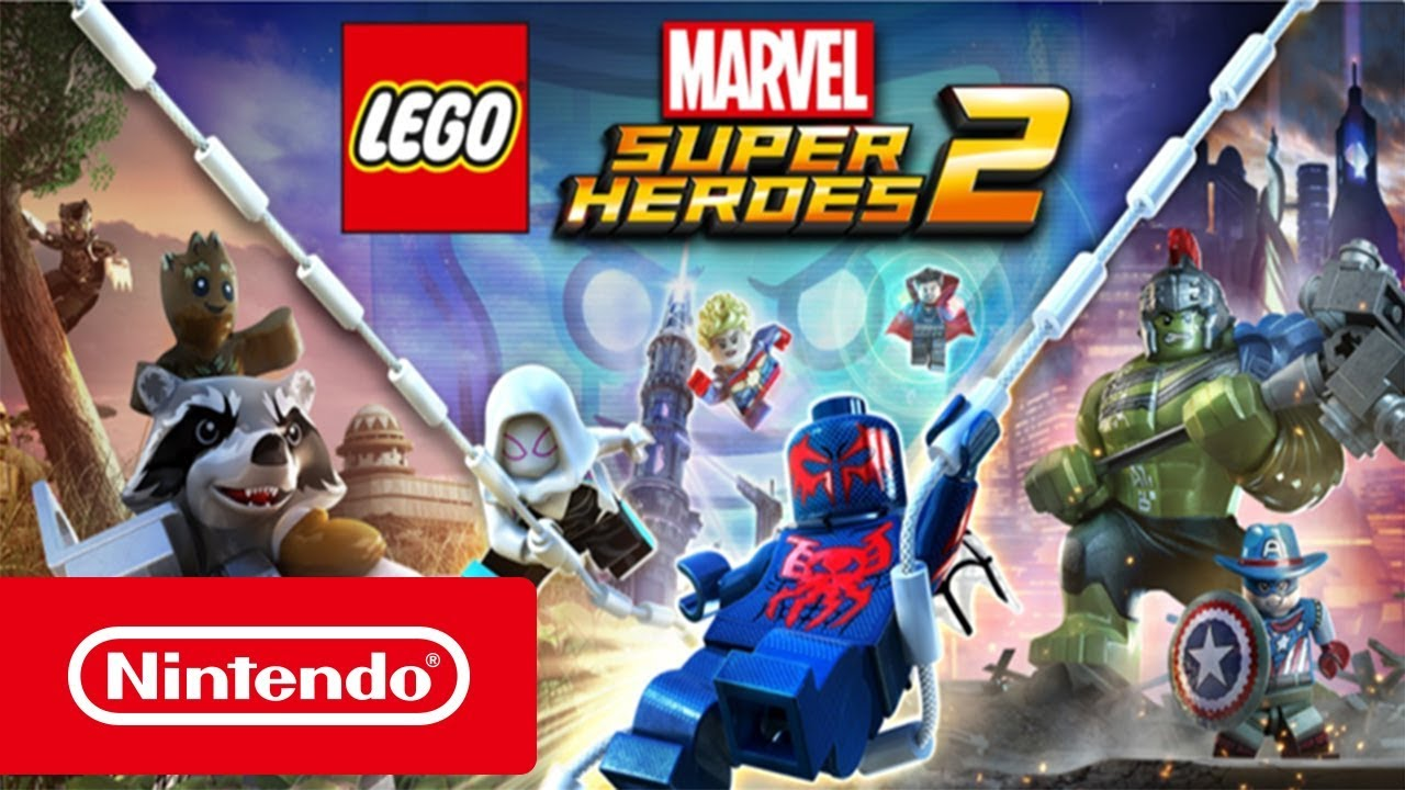 Lego Marvel Super Heroes 2 Trailer Black Panther Nintendo Switch