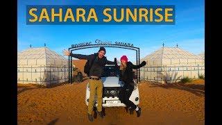 SUNRISE IN THE SAHARA DESERT - Morocco Travel Guide
