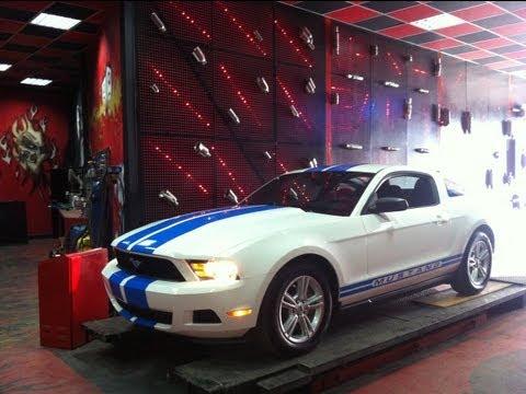 Ford Mustang 3.7i V6, Performans Egzoz Sesi