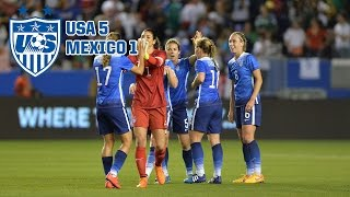 WNT vs. Mexico: Highlights - May 17, 2015