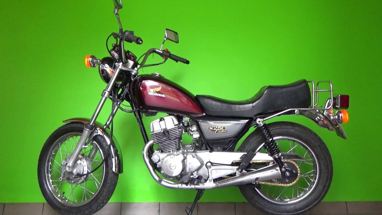 honda cm 250 custom 82r youtube