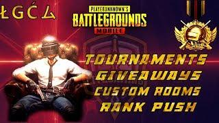 PUBG Mobile Pakistan/India - Custom Room - UC GiveAway - Tournaments - LIVE Gaming #Pakistan