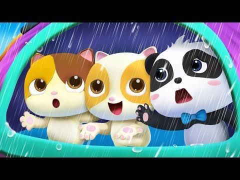 Rain Rain Go Away | Swimming Song, Color Song | Nursery Rhymes | Kids Songs | BabyBus