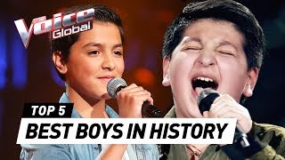 Best Boys In The Voice Kids History MP3