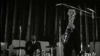"Stan Getz. Cannes Jazz Festival 1958 - ""GHOST OF A CHANCE"" + ""INDIANA"""