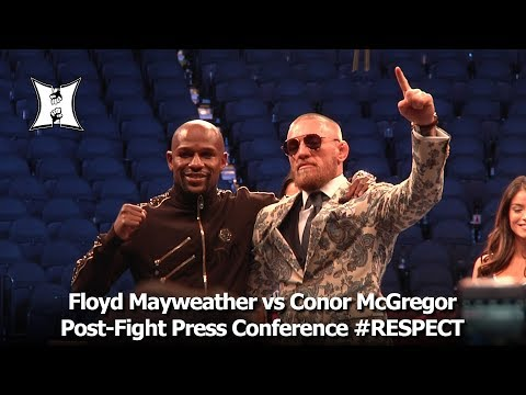 Floyd Mayweather vs Conor McGregor Post-Fight Press Conference (LIVE!)