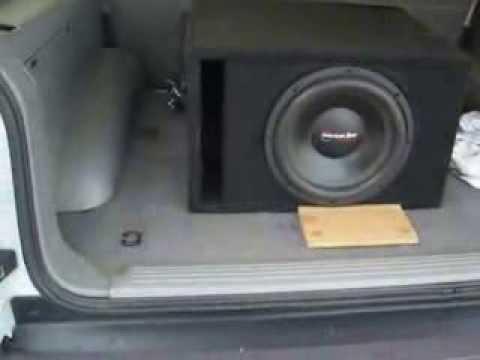 NEW UPDATES 1 American Bass TNT 12 AND A 1200 WATT AMP