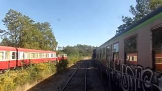 De Sainte Anastasie sur Issole à Carnoules Platanes à bord du train touristique du centre var