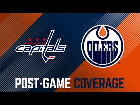 ARCHIVE | Oilers Post-Game Interviews at Washington
