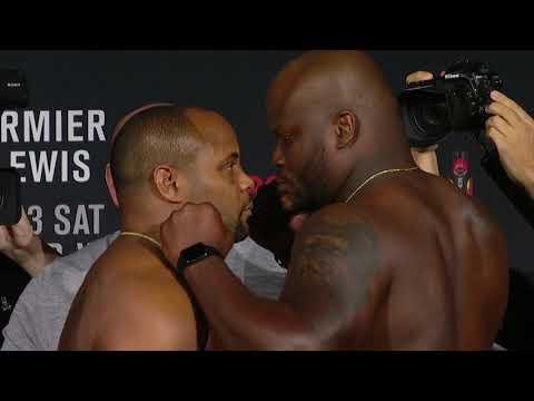 UFC 230: Weigh-in Faceoffs