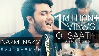 O Saathi | Nazm Nazm | Atif Aslam | Raj Barman ft. Anirban | Unplugged Cover mp3 song download