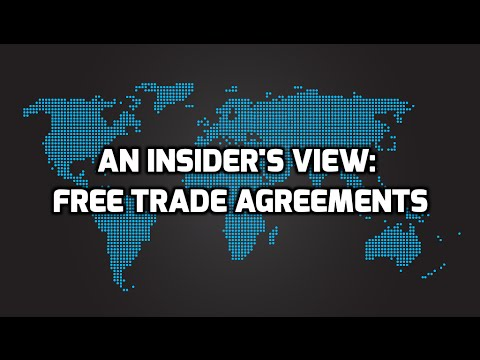 An Insider's View: Free Trade Agreements ft. David Jacobson