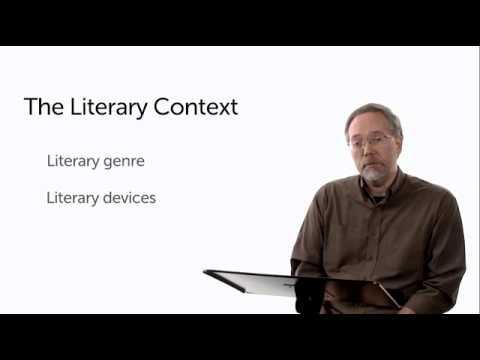 Michael S. Heiser~The Bible's Literary Context