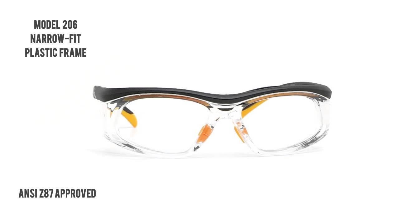 d2f57f17b1 Prescription Safety Glasses   RX-206 - YouTube