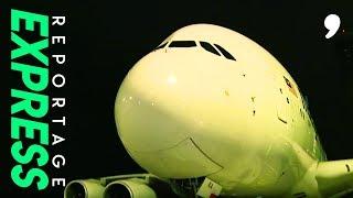 Au coeur d'un airbus A380