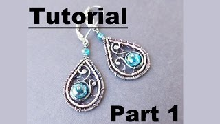 Download Video Wire Wrapping Tutorial - Beth's Earrings - Part 1 MP3 3GP MP4