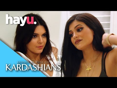Kendall & Kylie Fight Over Tyga | Keeping Up With The Kardashians