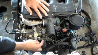 شروحات مختار probleme ralenti a froid Peugeot Partner 306 berlingo diesel