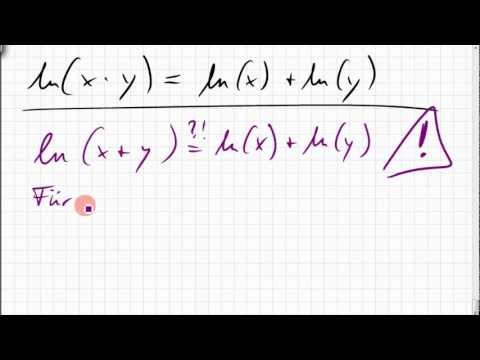 10B.4 Logarithmus einer Summe
