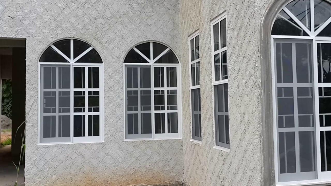 Ventanas de cuadros y aluminios blanco youtube for Imagenes de ventanas de aluminio modernas