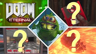 20 DOOM Eternal Easter Eggs, Secrets and References! (CONTAINS SPOILERS)