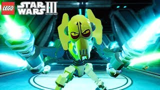 LEGO Star Wars III The Clone Wars - General Grievous Chapter 1: Duel of the Droids (Xbox One X)