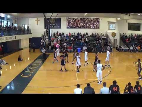 The Park School Boys Basketball vs Canisius   Full Game   JAN 12 2019
