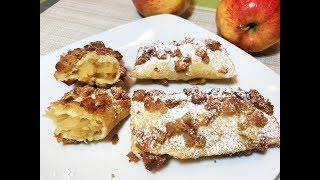 ПУШАРИКИ с Яблоками.  Вкусная Идея для Завтрака.  Ленивые Пирожки. Pies With Apples