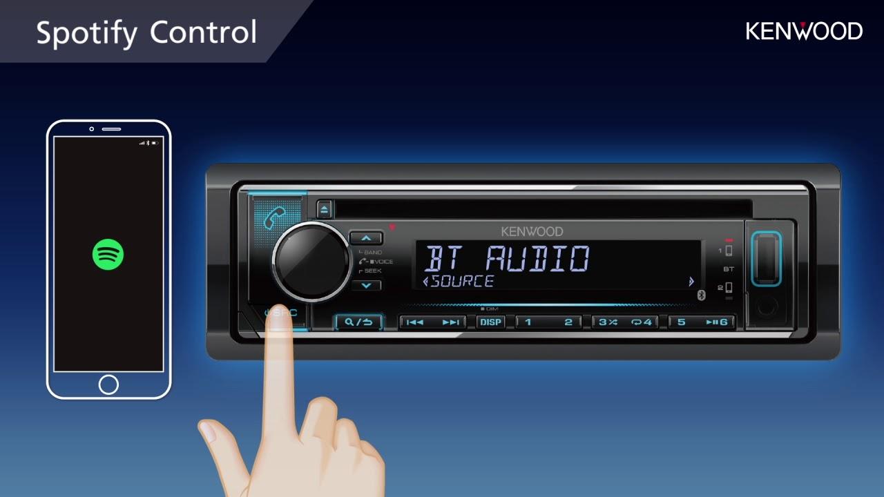KENWOOD Spotify Control Audio 2018