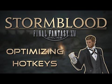 Final Fantasy XIV: Hotkey Optimization Guide
