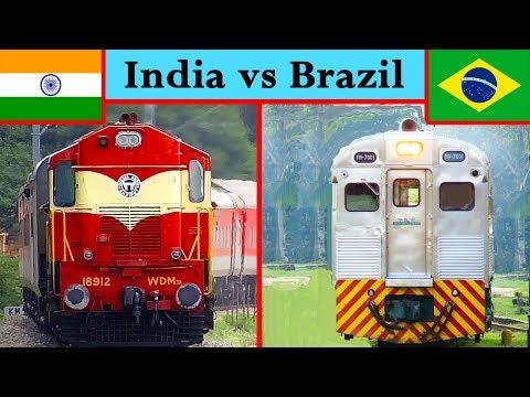 Indian Railways vs Brazilian Railways Comparison