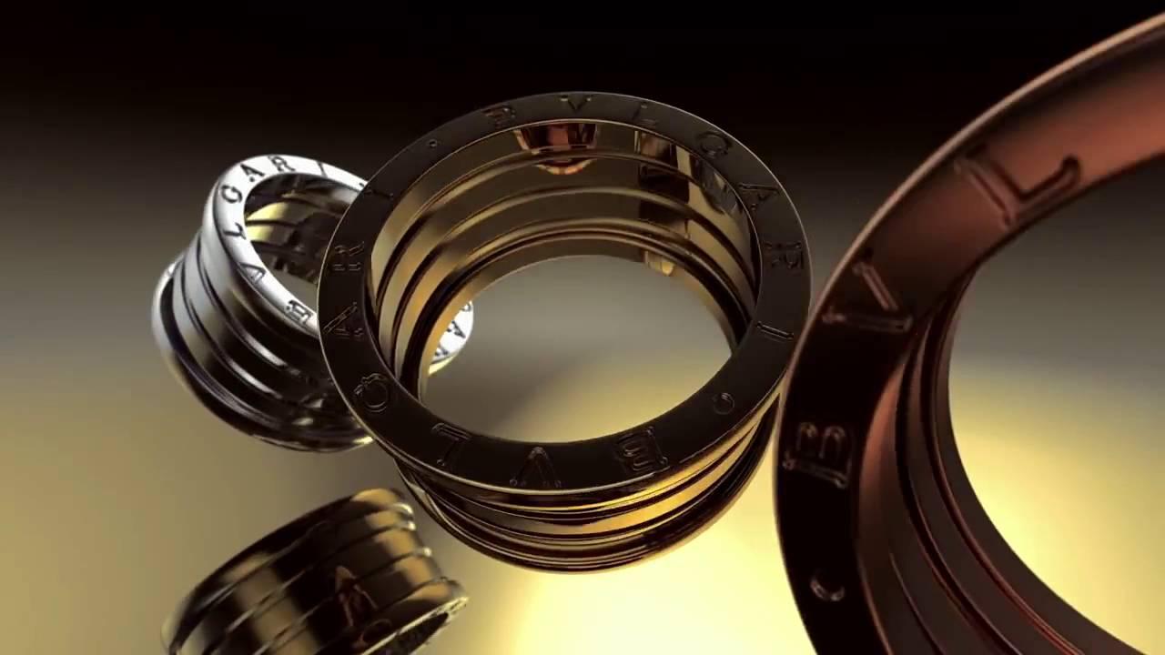 bulgari b zero1 gold ring collection