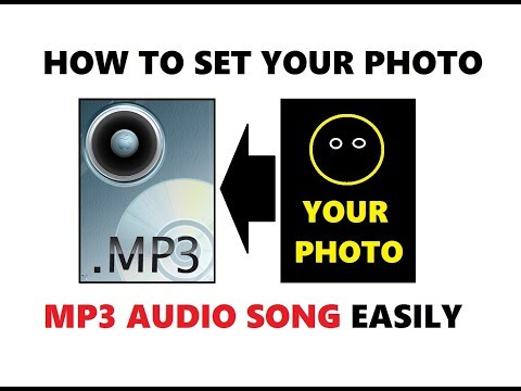 How to Set your Photo on Mp3 Audio Song | Add your Picture on Mp3 Song Easily