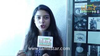 Varsha At Sathuran Movie Team Interview
