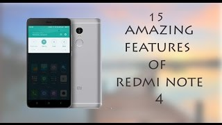 Amazing Features of Redmi Note 4